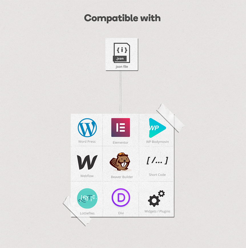 Office Animated Icons Set - Wordpress Lottie JSON SVG - 7