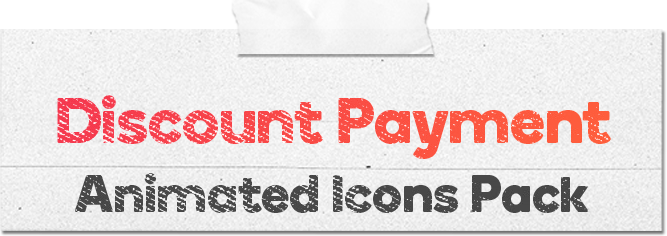 Discount Payment 16 Animated Icons Pack - Wordpress Lottie Json Animation SVG - 1